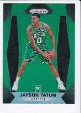 2017-18 Panini Prizm #16 Jayson Tatum Green Prizms RC Boston Celtics