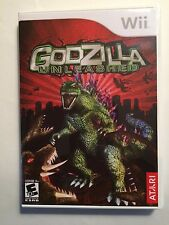 Godzilla Unleashed - Nintendo Wii - Replacement Case - No Game