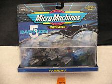 Micro Machines Space 65623 BABYLON 5 #3 Centauri Star Fury NEW 1994 Galoob RARE