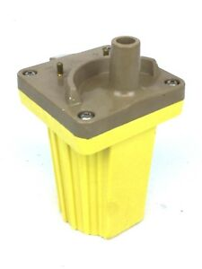 1135 NEW SUPER IGNITION COIL YELLOW YC005A TYPE 140001 FORD CHEVROLET 45000V