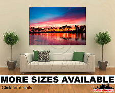 Wall Art Canvas Picture Print - Magical sunset, Hawaii 3.2