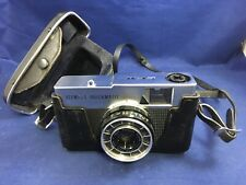 Vintage Olympus Quickmatic EEM 35MM Camera with Case 1960s for Parts/Repair