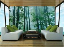 Beautiful Foggy Wall Mural Photo Wallpaper GIANT DECOR Paper Poster Free Paste