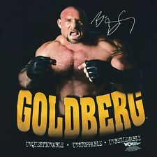 Vintage Goldberg Large T-shirt Wrestling WWF WWE WCW ECW Ring Champion Spear
