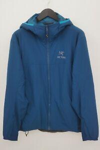 Men Arc'teryx JacketBlue Breathable Hooded Padded Classic L VAU886