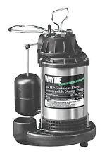 Wayne  3/4 hp 5673 gph Stainless Steel  Submersible Sump Pump