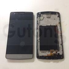 LCD Display für LG Optimus G3 mini D722 Touchscreen mit Rahmen schwarz Grau Gray