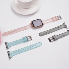 For Apple Watch Series 6 5 4 3 2 1 SE Silicone Watch Band 38 42MM Universal AU