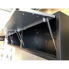 3PCS of Powder Coated Steel Overhead Wall Storage Cabinet Office Garage Workshop