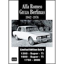 Alfa Romeo Giulia Berlinas Limited Edition Extra 1962-1976 book paper car