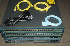 Cisco CCNA CCNP CCIE Lab with 2xCISCO2811 WS-C3548-XL-EN 180DaysWty