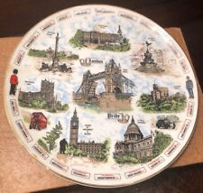 Vintage Argyle China London Pride Historical Landmarks Plate Made In England