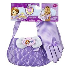 DISNEY PRINCESS SOFIA THE FIRST ROYAL PURSE GLOVES RING FANCY DRESS SET