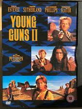 EMILIO ESTEVEZ young guns II / 2 BILLY THE KID Oeste GB DVD I Snapper ESTUCHE