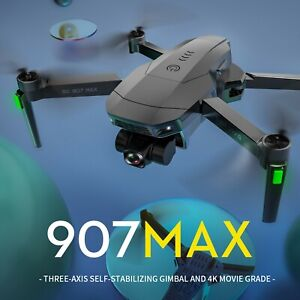 2021 NEW SG907 MAX 3-axis Gimbal 5G WIFI FPV RC Drone Quadcopter with 4K HD GPS.