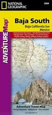 National Geographic Adventure Map: Baja South - Baja California Sur 3104 by National Geo Maps Staff (2008, Map, Other)