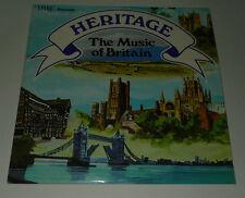 HERITAGE THE MUSIC OF BRITAIN 2x LP AMBROSIA SINGERS RABINOWITZ NR MINT SSR77