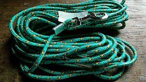 STRONG LINE Schleppleine Leine Suchleine Sommer  AKTION grün dreifarbig 10m N EU
