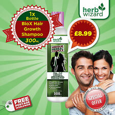 BIOX HAIR GROWTH SHAMPOO ANTI HAIRLOSS MOISTURISING THICK BIG VOLUME HAIR
