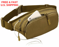 WAIST PACK Hip Bag Hunting Hole For Power Accessory Waterproof MERCERIZED COTTON