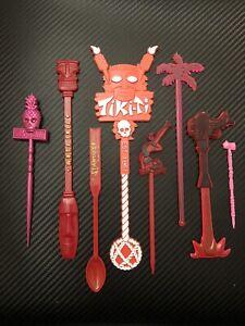 Tiki Bar Swizzle Stick Lot #1