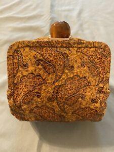 HOBO THE ORIGINAL Clutch Wristlet Mini Crossbody Bag print RARE