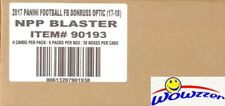 2017 Donruss Optic Football Factory Sealed 20 Box Blaster CASE-MAHOMES RC Year