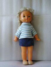 Rare Vintage Very Nice Plastic Doll, Russia/Ussr, 1970s