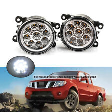 LED Fog Lights For Nissan Frontier Titan Armada Navara 2005-2019 Factory Lamp