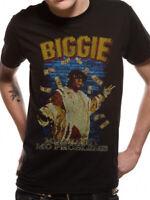Official Notorious B I G BIG T Shirt Retro Mo Money Mo Problems Unisex Black