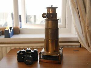 Massive Magic Lantern Brass Lens