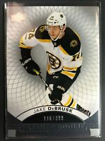 2017-18 UD Premier Rookie Jake DeBrusk Boston Bruins /399