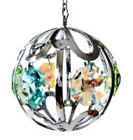 Crystocraft Hanging Globe Crystal Globe Ornament Swarovski Elements Gift Boxed