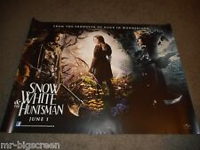 SNOW WHITE AND THE HUNTSMAN - ORGINAL ROLLED DS BRITISH QUAD POSTER - 2012