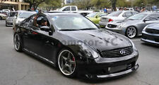 CARBON FIBER TS Style Hood Bonnet Fit For 2003-2007 Infiniti G35 2D Coupe