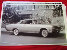1966 CHEVROLET IMPALA SS CONVERTIBLE 11 X 17  PHOTO /  PICTURE