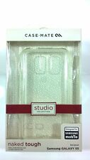 New Case-Mate Studio Collection Naked Tough Case for Samsung Galaxy S5 Clear *