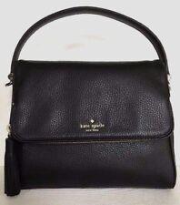 New Kate Spade Miri Chester Street Leather handbag Black