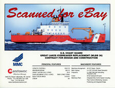 Christening package Great Lakes icebreaker Mackinaw Coast Guard 2005