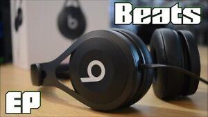 HEADPHONES DR.DRE POWER BEATS EP BLACK 100% ORIGINAL 2021 CUFFIE BEAT NERO 123