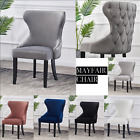 Tufted Studded Velvet Dining Accent Margonia High Back Chair 1/2/4/6 Mayfair