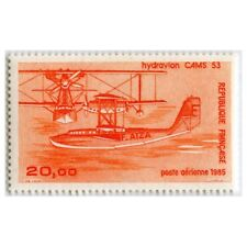 Timbre Poste Aérienne PA58 Neuf** - Hydravions CAMS 53 - 1985