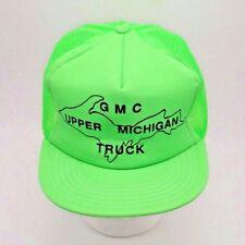 Vtg Made in USA - GMC Dealer Trucker hat - Upper Michigan Truck