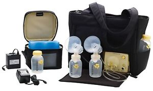 Medela 101036449 Pump in Style Advanced Electric Breast Pump Double w/ Tote Bag