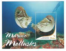 Palau - Marine Life, Mollusks, 2015 - S/S MNH