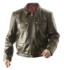 WW2 German Eric Hartmann leather jacket brown - Made to your sizes