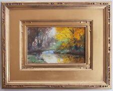 Listed GEORGE TRAVER Oil Painting SALMAGUNDI CLUB Artist Art Students League VP
