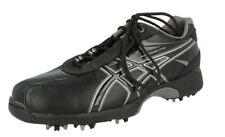 Mens Asics Black & Grey Lace Up Golf Shoes : Tour Lyte