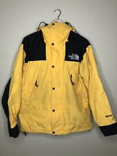 Vintage The North Face Mountain Jacket Parka Yellow Gore Tex Sz Small TNF
