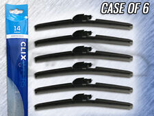 "AUTOTEX CLIX 14"" WIPER BLADE - CLIX-14 - CASE OF 6 - REPLACES IN 10 SECONDS"